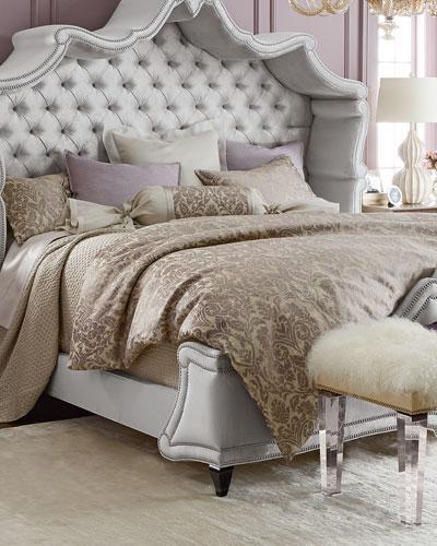 Fino Lino Linen & Lace Serenity Bedding