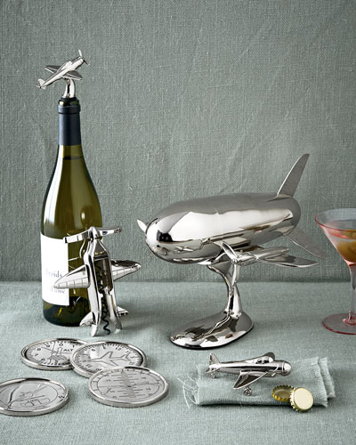 Godinger Airplane Barware