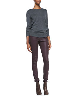 rag & bone/JEAN Natalie Wool-Blend Sweater & The Legging Jeans