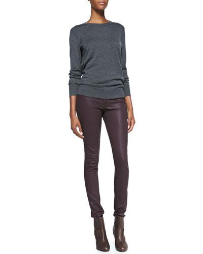 rag & bone/JEAN Natalie Wool-Blend Sweater & The Legging Jeans