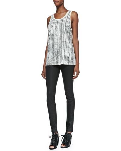 rag & bone/JEAN Cast Sleeveless Tank Top & The Legging Jeans