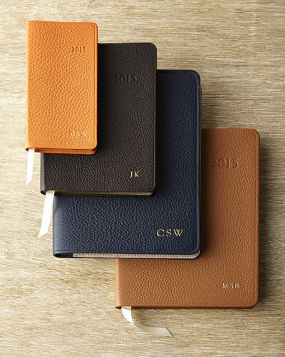 Graphic Image Inc Pebbled Leather Journals