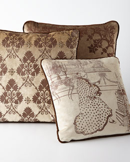 ETOFFE MAKARA Medici Pillows