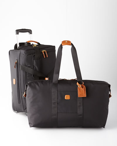 Bric's Black Ultralight Luggage