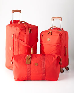 Bric's Red Ultralight Luggage