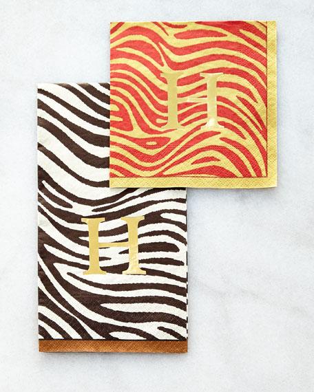 100 Serengeti Cocktail Napkins