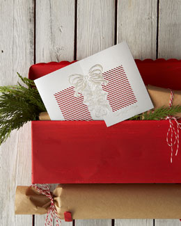 "Carlson Craft ""Holiday Greetings"" Personalized Christmas Cards"