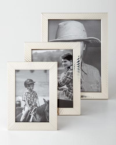 Sunburst Sterling Silver Frames