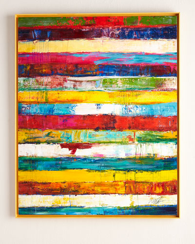 "RFA Fine Art ""Stripes"" Original Painting & Giclee"