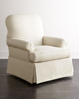 SOUTHERN FURNITURE-UPHOLESTRY Lynn St. Clair Swivel Chair
