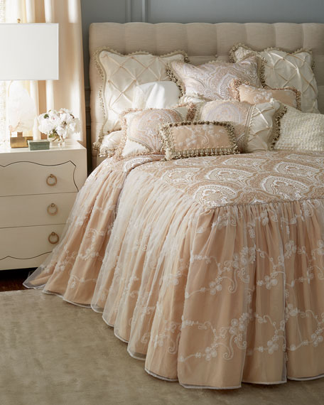 Sweet Dreams King Imperial Skirted Coverlet