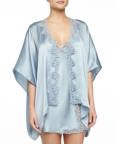 Petite Macrame Chemise & Short Robe