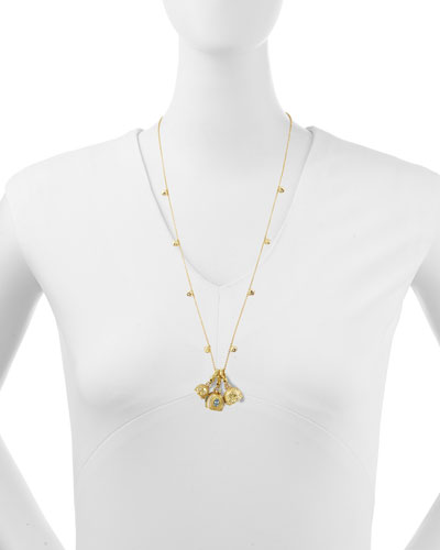 Paul Morelli Necklace & Assorted Meditation Bell Pendants
