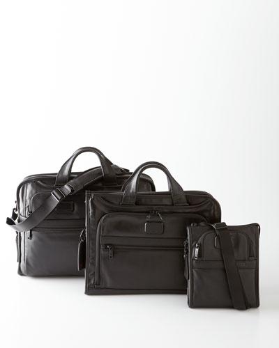 Tumi Black Alpha 2 Business Travel Bags