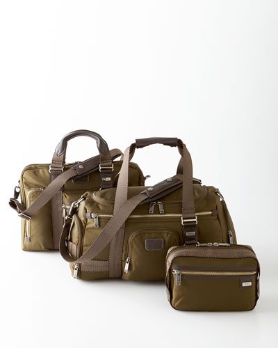 Tumi Olive Alpha Bravo Travel Bags