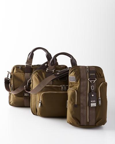 Tumi Alpha Bravo Olive Business Travel Bags