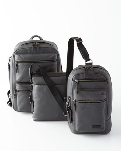 Tumi Mission Iron Leather Bags