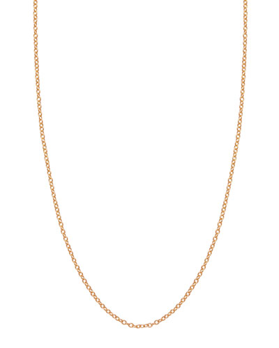 Assorted Rose Gold Chain Necklaces