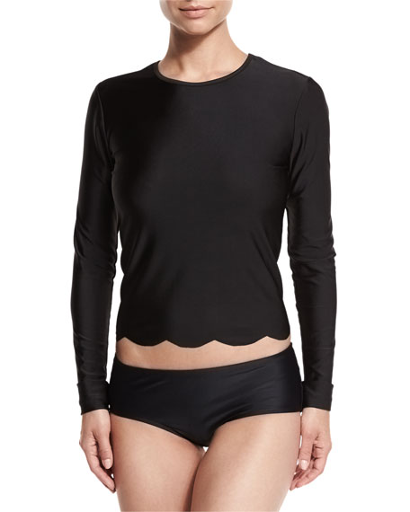 Cover UPF 50 Hipster Swim Bottom, Black