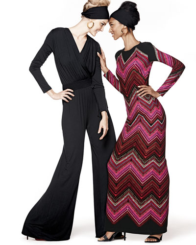 Rachel Pally Wide-Leg Jumpsuit & Melissa Masse Maxi Dress