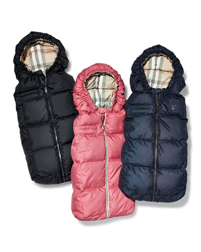 Burberry Quilted Puffer Cocoon Sleepers