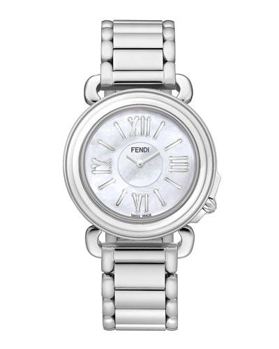 37mm Selleria Stainless Steel Watch Head & Bracelet