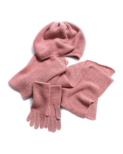 Portolano Hat, Gloves, & Scarf