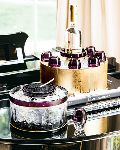 Elysian Caviar & Vodka Serving Sets