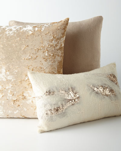 Throw Pillows Neutral : Decorative Pillows Bedding at Neiman Marcus