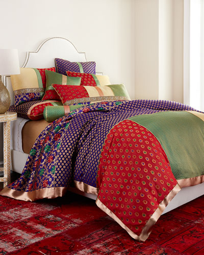 Zari Brocade Bedding
