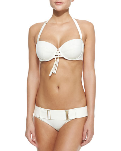 Sofia Underwire Swim Top & Belted Swim Bottom