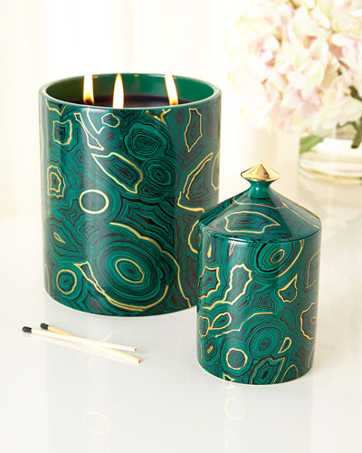 Fornasetti Malachite Candles