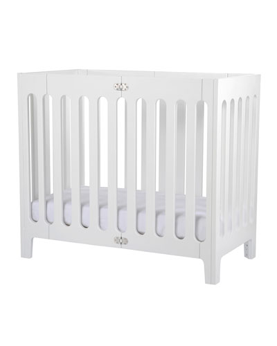 Alma Mini Crib, Custom-Fit Mattress, Custom-Fit Sheets & Mattress Protector