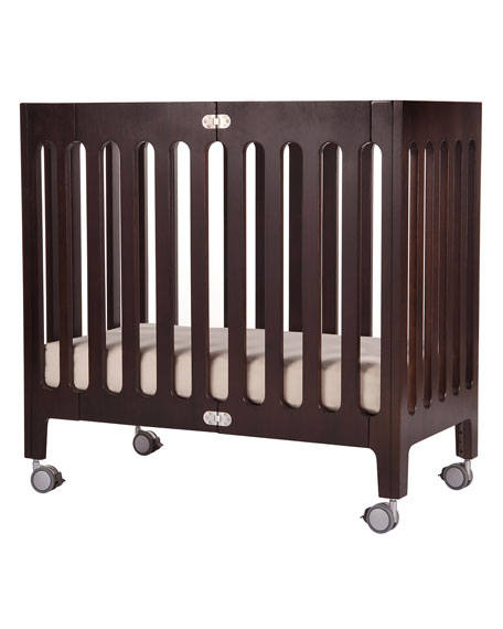 Alma Mini Crib, Cappuccino