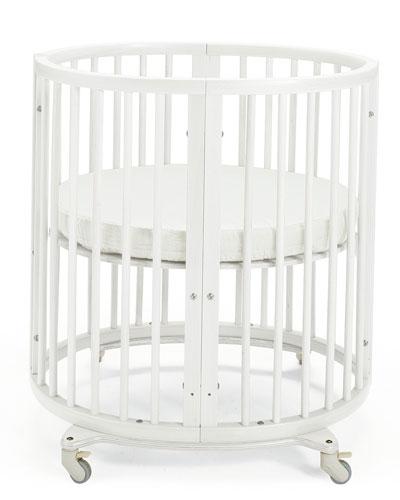 Sleepi Mini Baby Crib Bundle, Canopy for Stokke Sleepi Crib, Fitted Sheet for Sleepi Mini Mattress, Waterproof Protection Sheet for Sleepi Mini Crib, Mini Bumper for Sleepi Mini Crib & Sleepi Bed Extensions