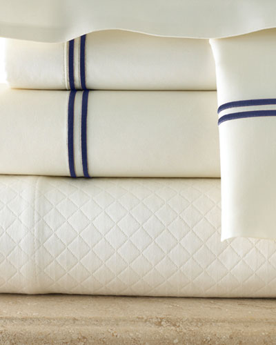 Satin-Stitched 340TC Sheet Sets