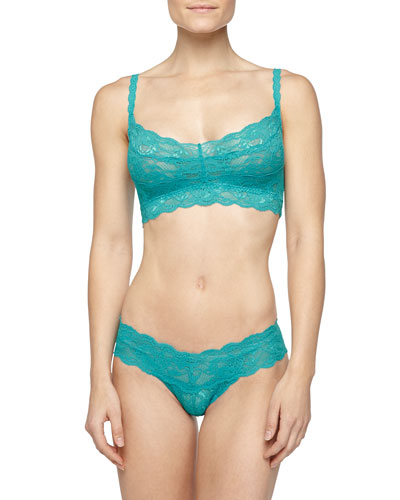 Never Say Never Sweetie Soft Bra & Cutie Thong, Blue