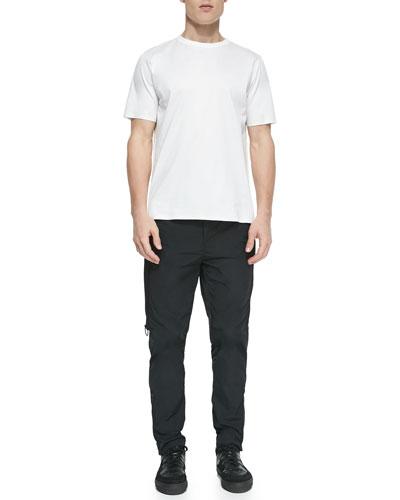3D Back Foam-Injected Pattern Shirt & Side-Zip Track Pants