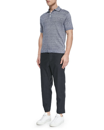 Harding Short-Sleeve Polo & Wilson Relaxed Trousers