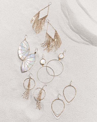 Lana 14k Gold Hoop & Drop Earrings