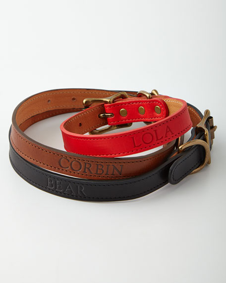 Personalized Petite Dog Collar
