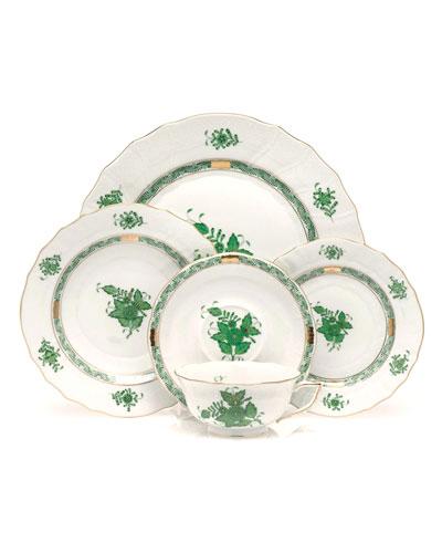 Green Chinese Bouquet Dinnerware