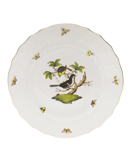Herend Rothschild Bird Dinner Plate