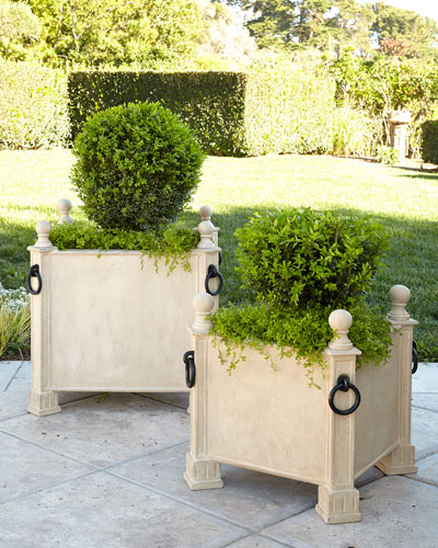 Neoclassical Indoor/Outdoor Planter