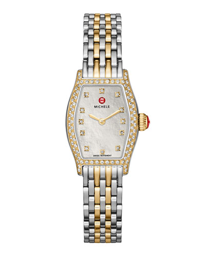 MICHELE Urban Coquette Diamond Watch Head & Two-Tone
