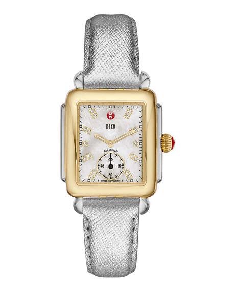 16mm Deco Two-Tone, Diamond Dial Watch Head
