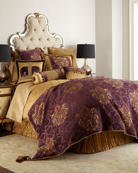 """Royal Court Crown Pillow, 18""""Sq."""