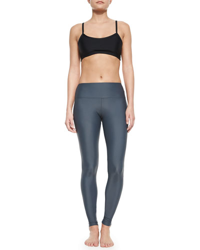UPF 50 Pullover Bra Top & UPF 50 Full-Length Swim Leggings