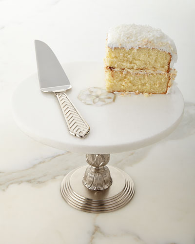 Palace Pedestal Server & Cake Server