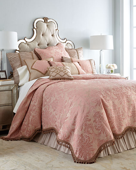 Sweet DreamsRue de L'amour King Duvet Cover
